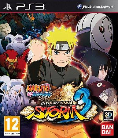 Naruto Shippuden Ultimate Ninja Storm 3 Full Burst - PS3