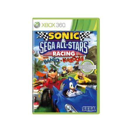 Sonic & SEGA All-Stars Racing With Banjo-Kazooie Usado X360