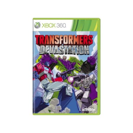 Transformers Devastation - Usado - Xbox 360
