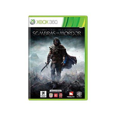 Terra Média: Sombras de Mordor - Usado - Xbox 360