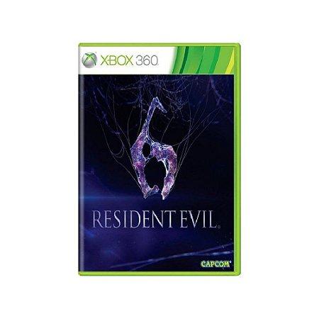 Resident Evil 6 - Usado - Xbox 360