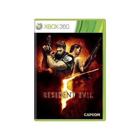 Resident Evil 5 - Usado - Xbox 360