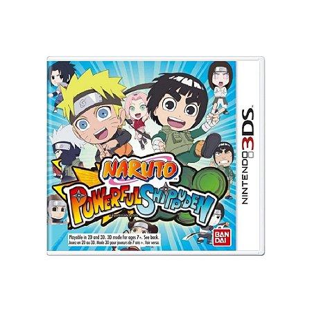 Naruto Powerful Shippuden - Usado - 3DS