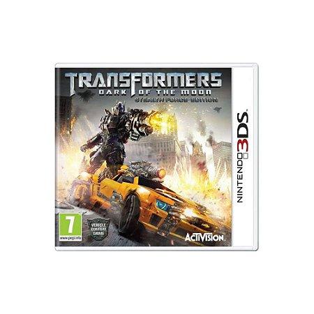 Transformers: Dark of the Moon - Usado - Nintendo 3DS