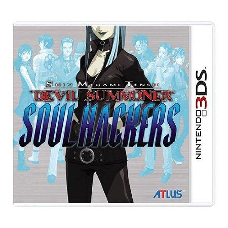 Shin Megami Tensei Devil Summoner Soul Hackers - Usado - 3DS