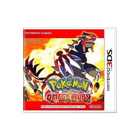 Pokémon: Omega Ruby - Usado - 3DS