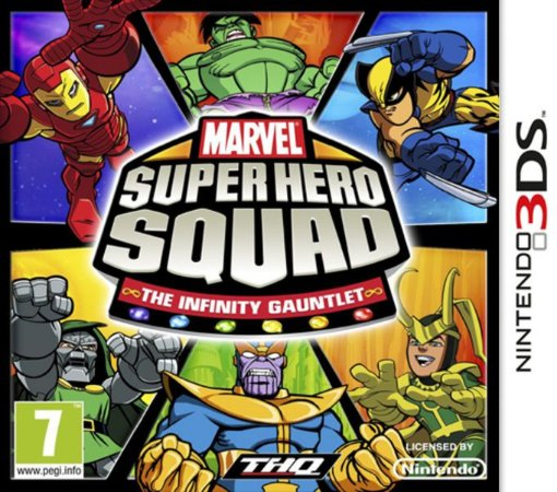 Marvel Super Hero Squad - |Usado| - 3DS