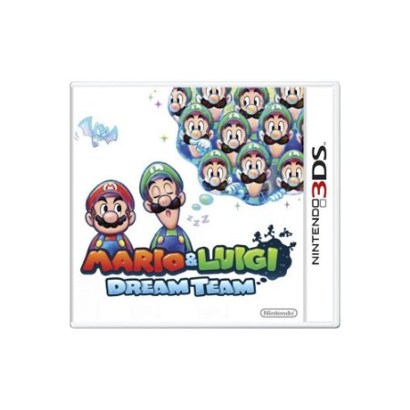Mario & Luigi Dream Team (Sem Capa) - Usado - 3DS