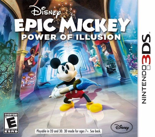 Epic Mickey Power Of Illusion - |Usado| - 3DS