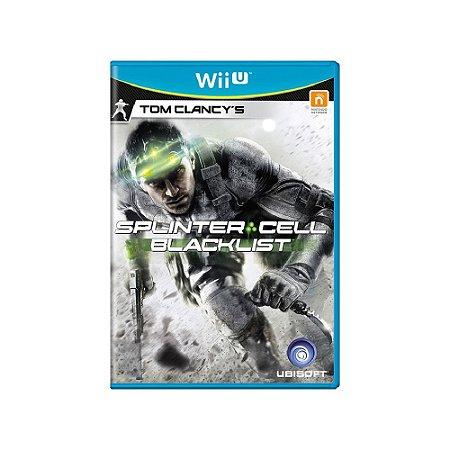 Tom Clancy's Splinter Cell Blacklist - Usado - Wii U