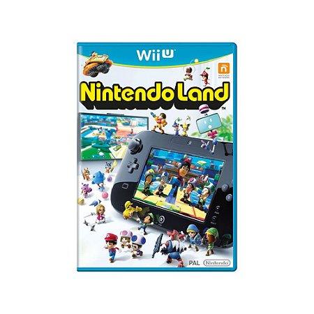 Nintendo Land - Usado - Wii U