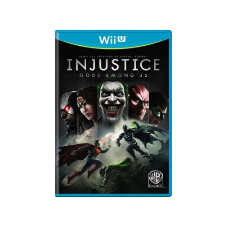 Injustice: Gods Among Us - Usado - Wii U