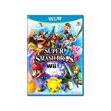 Super Smash Bros - Usado - Wii U