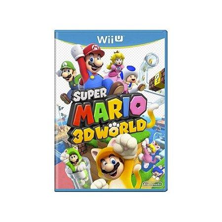Super Mario 3D World - Usado - Wii U