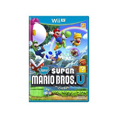 New Super Mario Bros U - Usado - Wii U