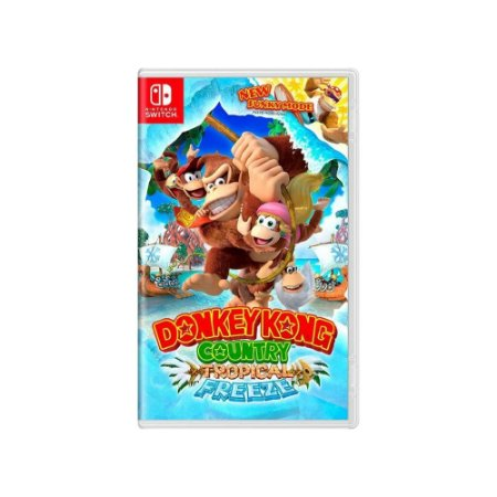 Donkey Kong Country: Tropical Freeze - Usado - Switch
