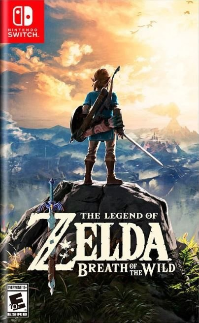 The Legend of Zelda Breath of the Wild Explorer's Edition - Switch