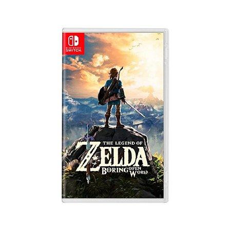 The Legend of Zelda: Breath of the Wild - Usado - Switch
