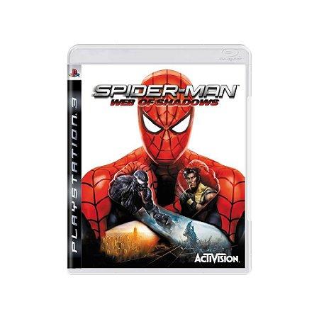 Spider-Man: Web of Shadows - Usado - PS3