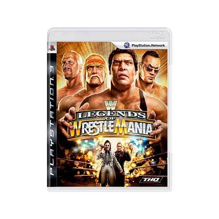 WWE: Legends of WrestleMania - Usado - PS3