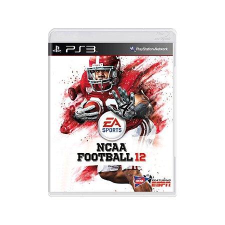 NCAA Football 12  - Usado - PS3