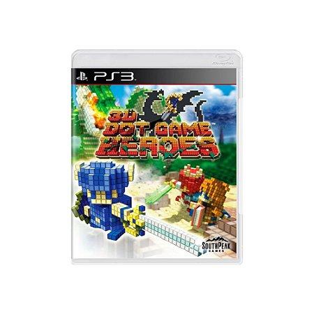 3D Dot Game Heroes - Usado - PS3