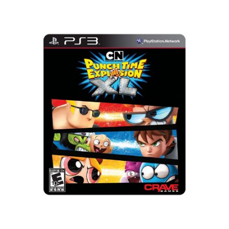 Jogo Cartoon Network: Punch Time Explosion - |Usado| - PS3