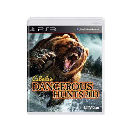 Cabela's Dangerous Hunts 2013 - Usado - PS3