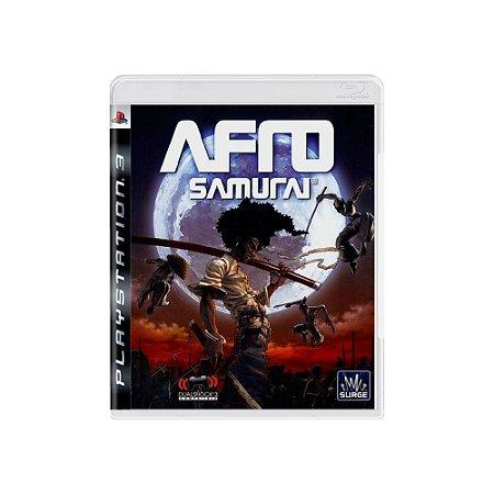 Jogo Afro Samurai - |Usado| - PS3