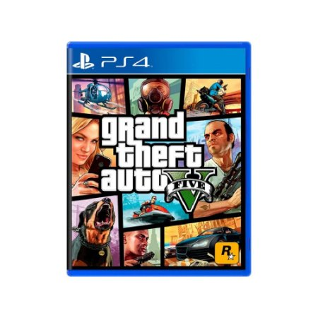 Grand Theft Auto V (GTA V) - Usado - PS4