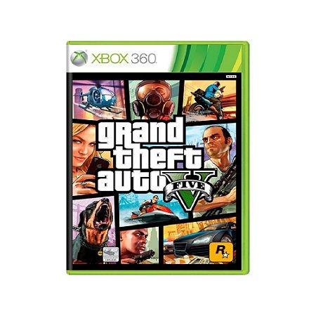 Grand Theft Auto V (GTA V) - Usado - Xbox 360