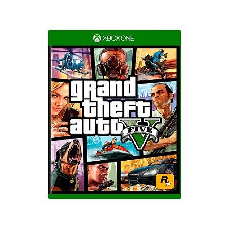 Grand Theft Auto V (GTA V) - Usado - Xbox One