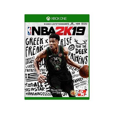 NBA 2K19 - Usado - Xbox One