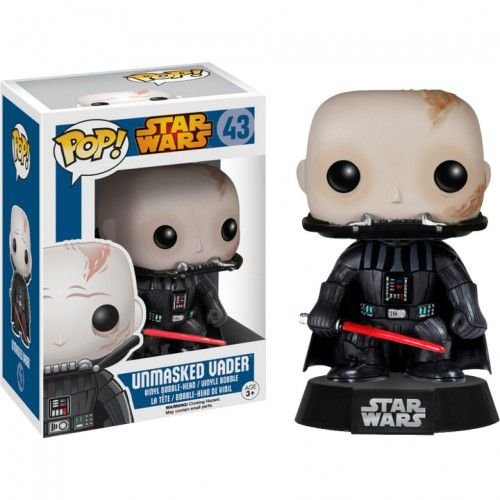 Boneco Funko Pop Star Wars - Unmasked Vader 43