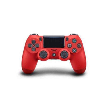 Controle Sony Dualshock 4 Vermelho - PS4