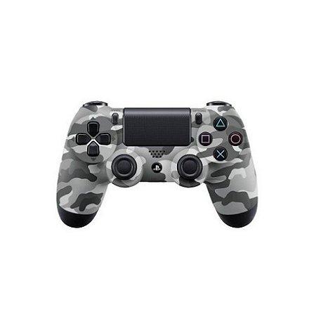 Controle Sony Dualshock 4 Cinza Camuflado - PS4