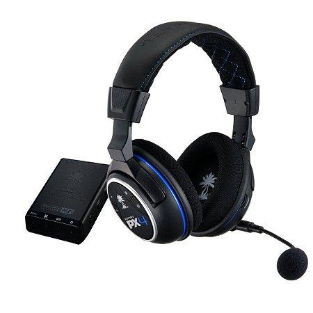 Headset Turtle Beach PX4 Sem Fio - PS4/ PS3/ X360