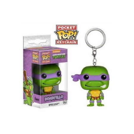 Funko Pocket Pop Keychain: Donatello - Tartarugas Ninja
