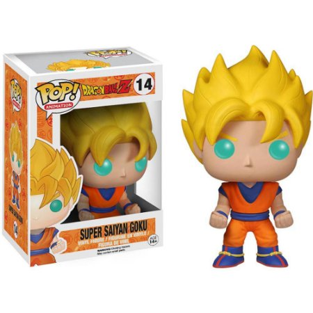 Boneco Funko Pop Dragon Ball Z - Super Saiyajin Goku