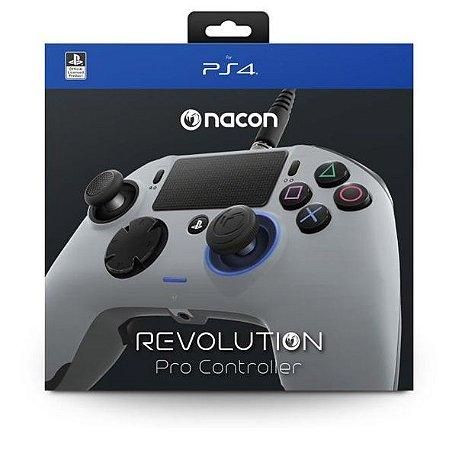 Controle Nacon Revollution PRO Grey - PS4