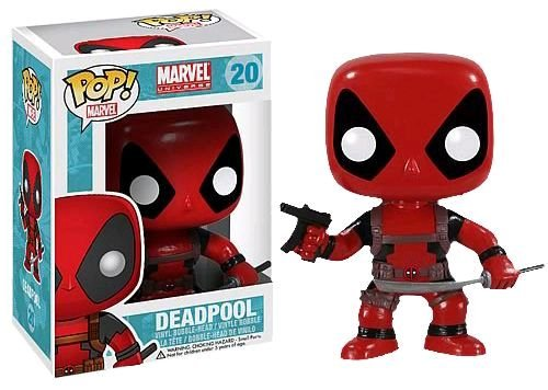 Boneco Funko Pop Universe Marvel - Deadpool 20