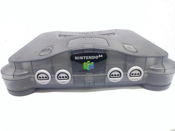 Console  - Usado -  Nintendo 64 Cristal