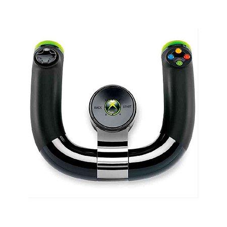 Volante Microsoft sem fio - Usado - Xbox 360