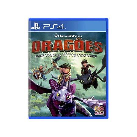 Dragões: Alvorada dos Novos Cavaleiros - Usado - PS4