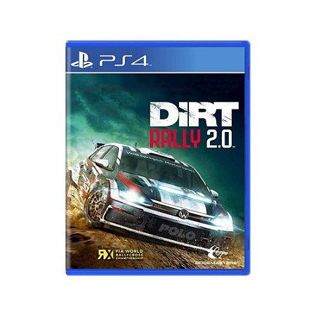 Jogo DiRT Rally 2.0 - PS4