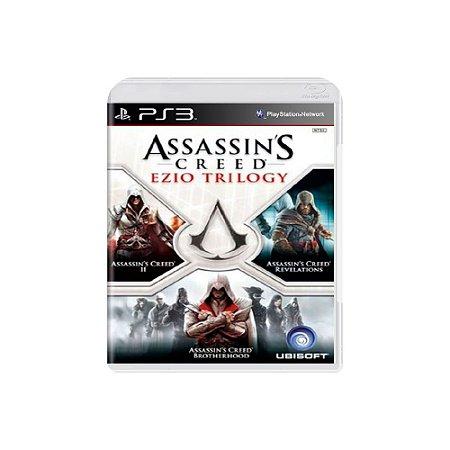 Assassin's Creed: Ezio Trilogy - Usado - Ps3