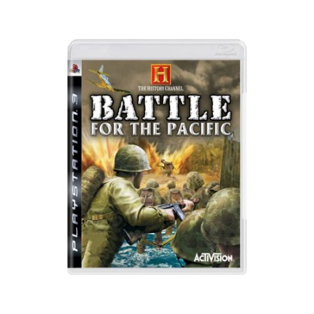The History Channel: Battle for the Pacific - Usado - PS3