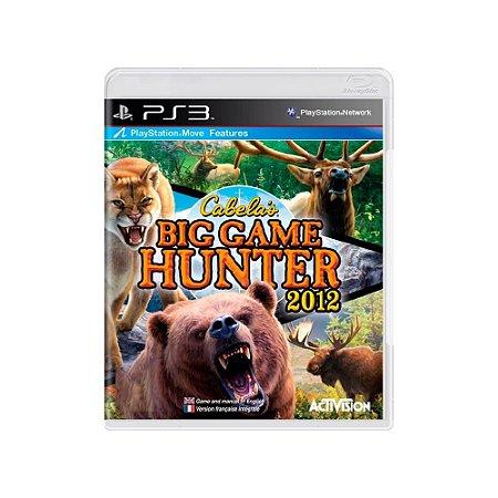 Jogo Cabela's Big Game Hunter 2012 - |Usado| - PS3