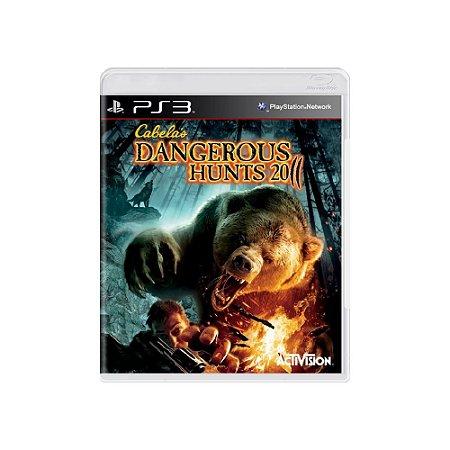 Cabela's Dangerous Hunts 2011 - Usado - PS3