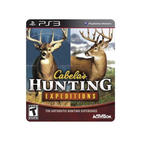 Cabela's Hunting Expeditions - Usado - PS3